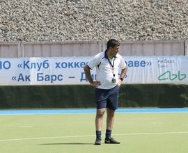 Хоккеисты «Динамо-Ак Барс» ведут тренировки