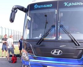 Хоккеисты «Динамо-Ак Барс» отправились в Москву