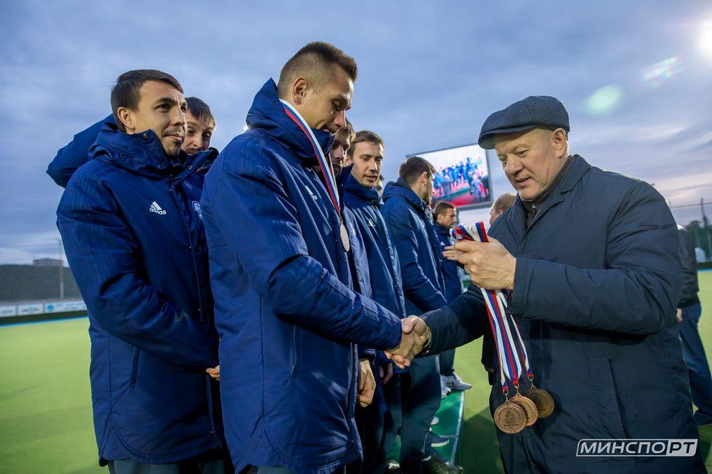 В Казани наградили победителей и призеров чемпионата России