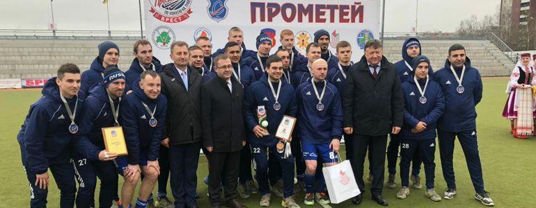 Динамовцы Казани – серебряные призеры Международного турнира «Прометей-2021»