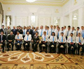 Президент Татарстана поздравил «Динамо-Казань» с золотом в Чемпионате России